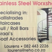 Stainless Steel Worxshop in Stilbaai