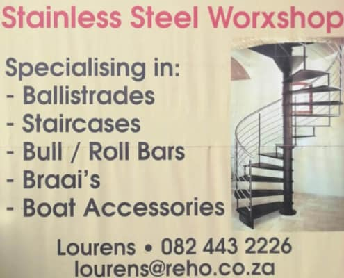 Stainless Steel Worxshop in Stilbaai