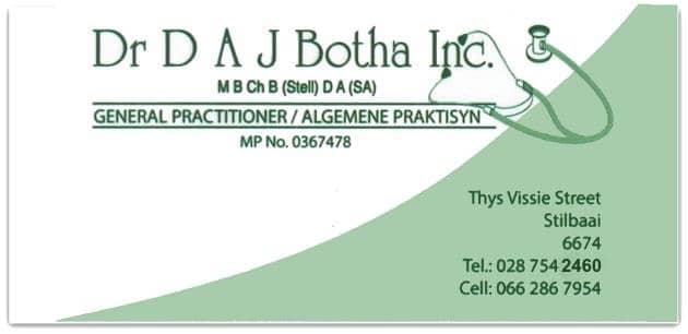 General Practitioner Dr DAJ Botha