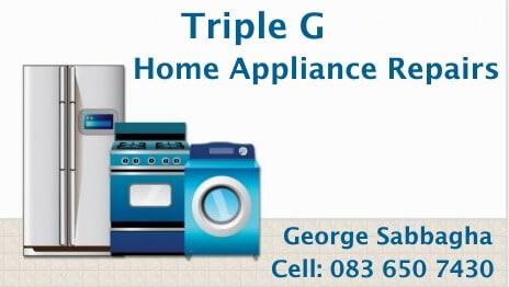 Triple G Home Appliance Repairs