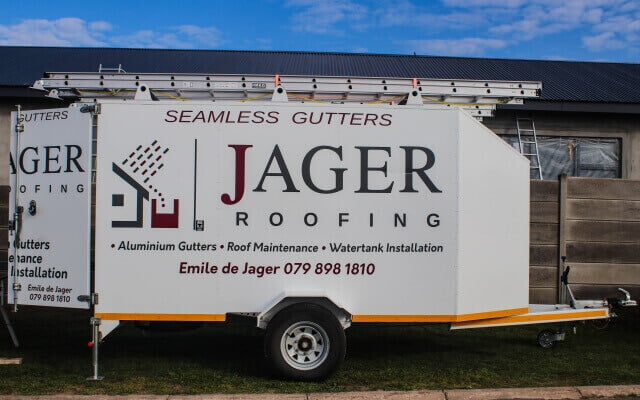 Jager Roofing Seamless Gutters