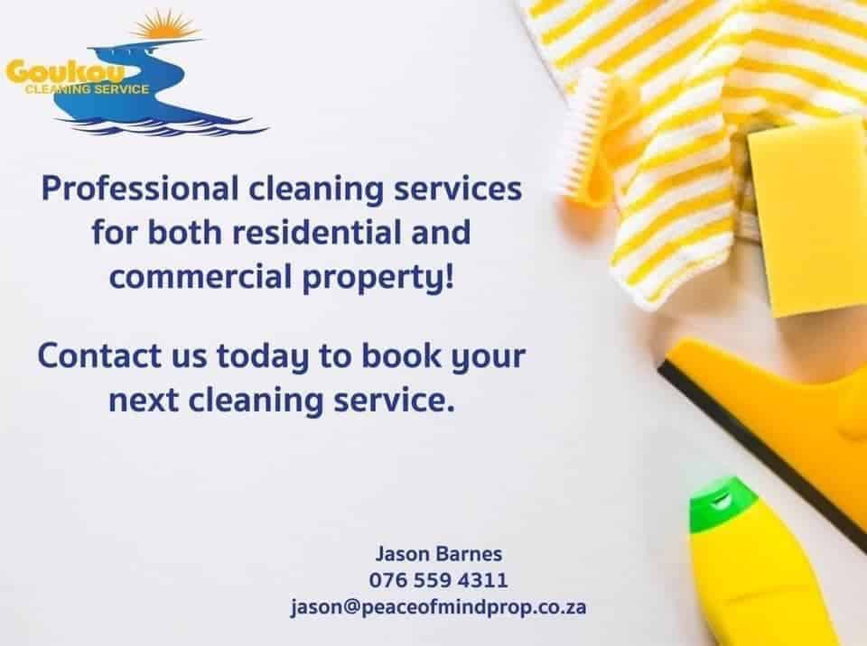 Goukou Cleaning Services Stilbaai and Jongensfontein